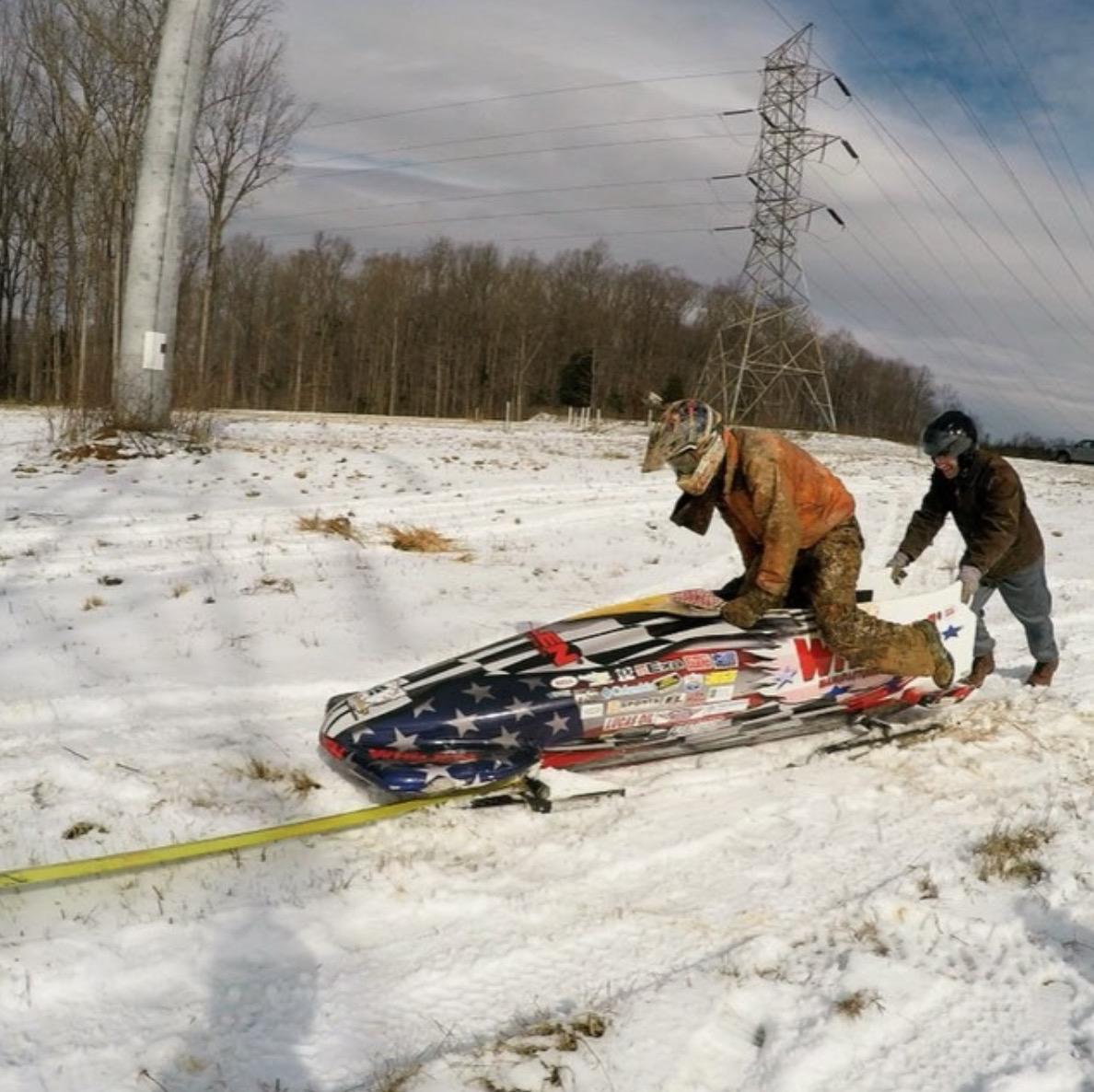 logano winter sled