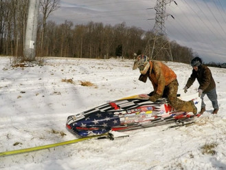 This is how we Bobsled in North Carolina