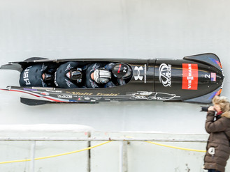Bo-Dyn bobsleds and crews reach holidays eyeing World Cup podium in 2015, highlighted by World Champ