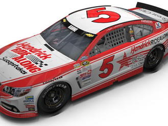 Kasey Kahne to channel Geoff Bodine's 1984 Hendrick Motorsports Chevy in Southern 500 at Darlington