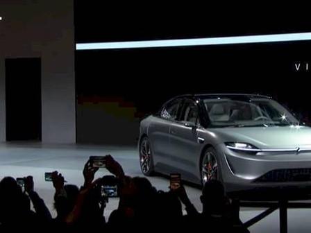 Sony sorprende al mundo presentando su primer auto en el CES