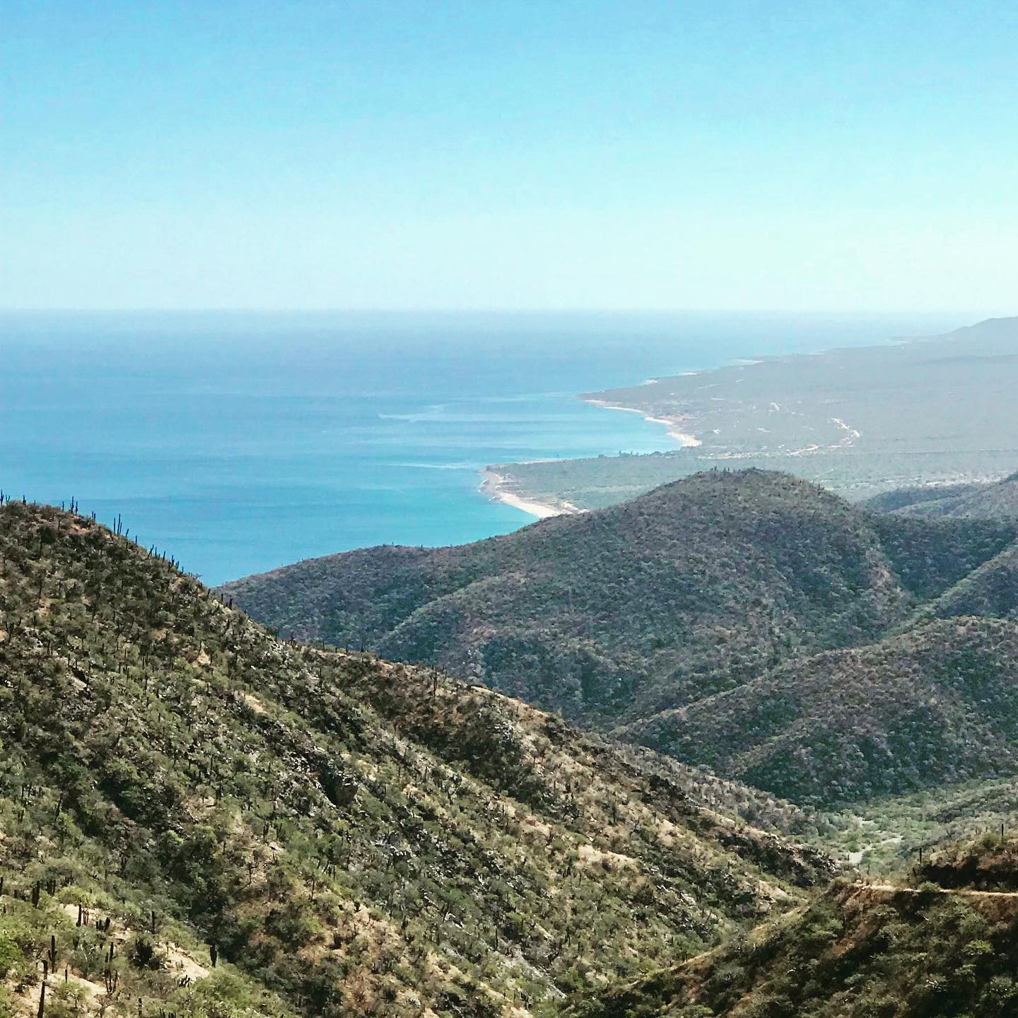 Endless trails in Baja Sur Mexico