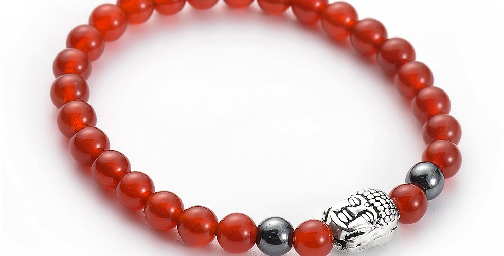 Buddha Red Agate Mix