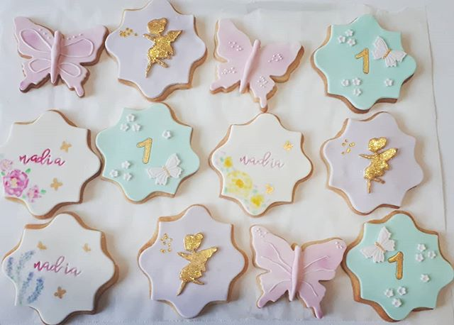 Matching Enchanted Fairy Garden Cookies