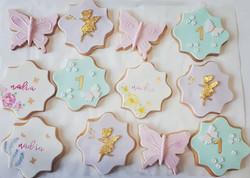 Matching Enchanted Fairy Garden Cookies