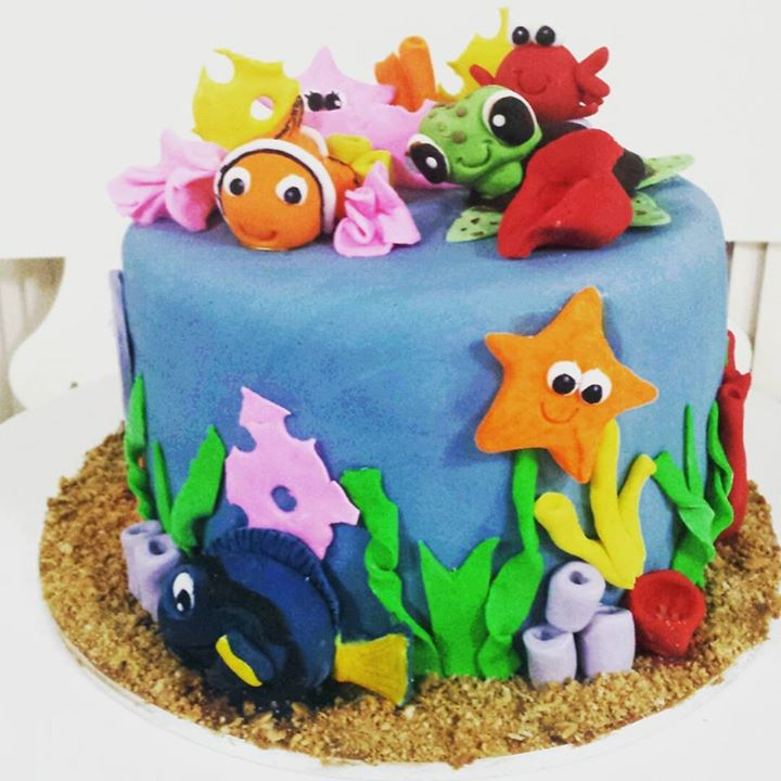 Finding Dory cake 🐠🐳🐟