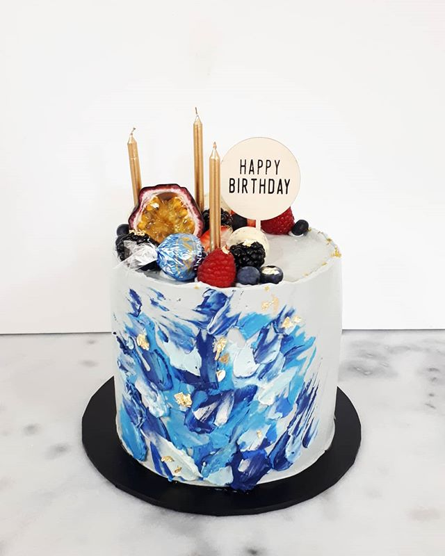 When cake is your canvas! One of my pers