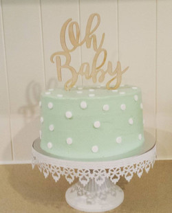 Cake number 2....to celebrate my beautiful sister in law _ameliadorber for her baby shower. Chocolat