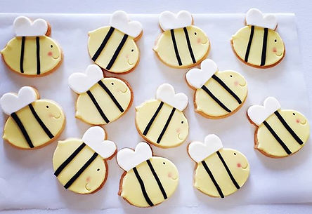 Bees really are cute. Especially in cook