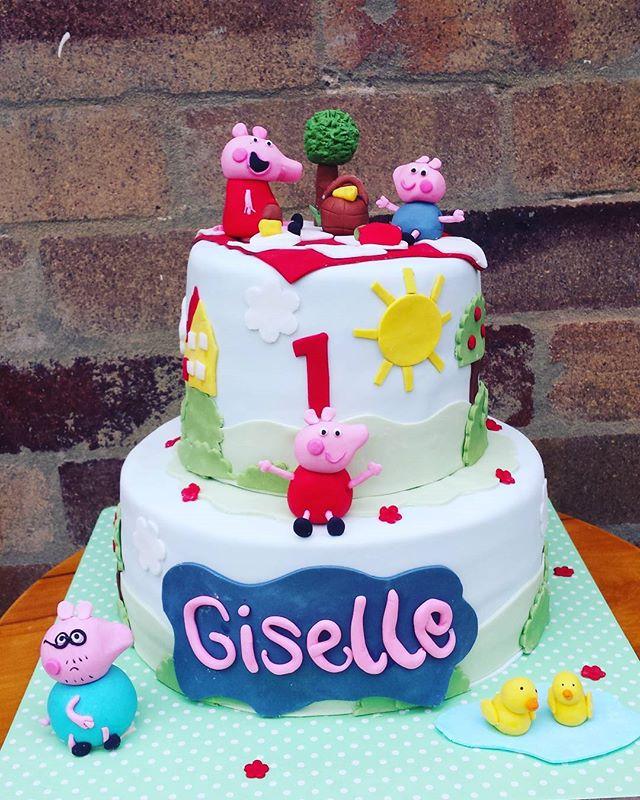 #peppapigcake #peppapig #sydneycakes #cakesbyheidi.com