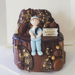 Chocolate and hazelnuts everywhere you look!