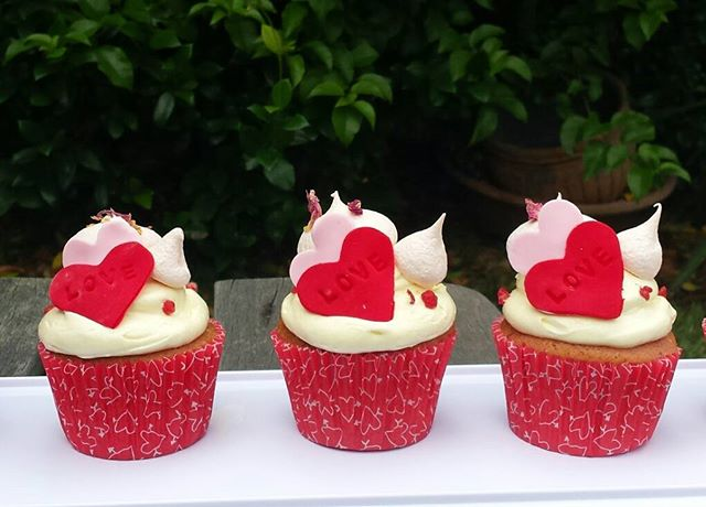 Also available are these sweet cupcakes