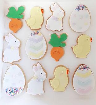 Easter Cookies! #easter #eastercookies #