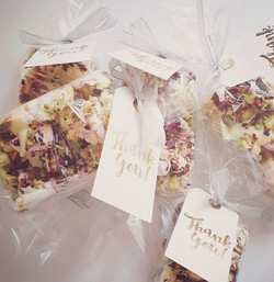The perfect way to say thank you to  wed