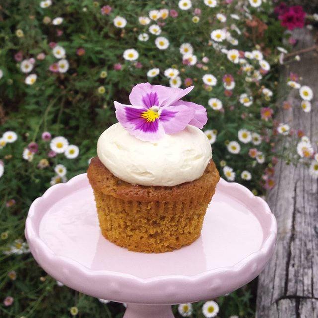 Spiced pumpkin cupcakes with cinnamon cream cheese frosting #sydneycakes #rusticwedding #cakesbyheid