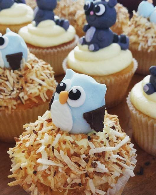 Throwback Thursday to these supercute woodland creature cupcakes #owl #woodlands #woodlandscupcakes