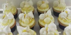 Fancy Pants Lemon meringue and coconut cupcakes. #sydneycakes #cupcakes #lemonandcoconut #lemonmerin