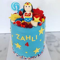I LOVED spunky Zahli's choice of Wonder