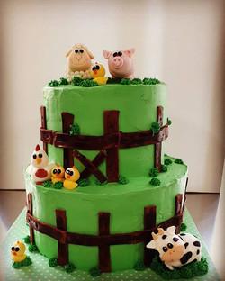 Chocolate farm cake