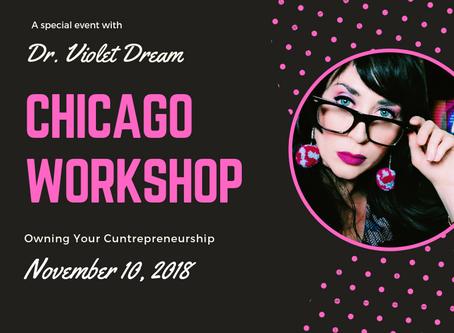 Special Workshop In Chicago