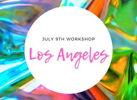 Another Workshop Added In LA!!