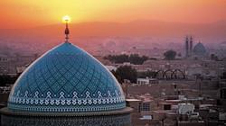 jame-mosque-aerial-view-sunset-yazd-iran