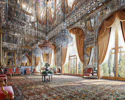 tehran-golestan-palace-Mirror-Hall