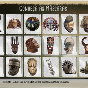 Máscaras Africanas - Jogo da memória