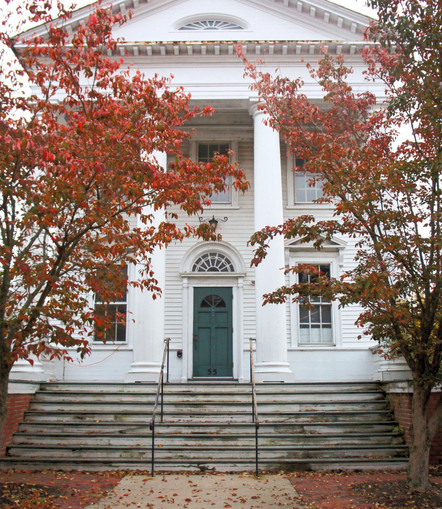 Free Library/Town Hall Annex: North Kingstown, RI