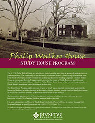 Walker House Study House Program