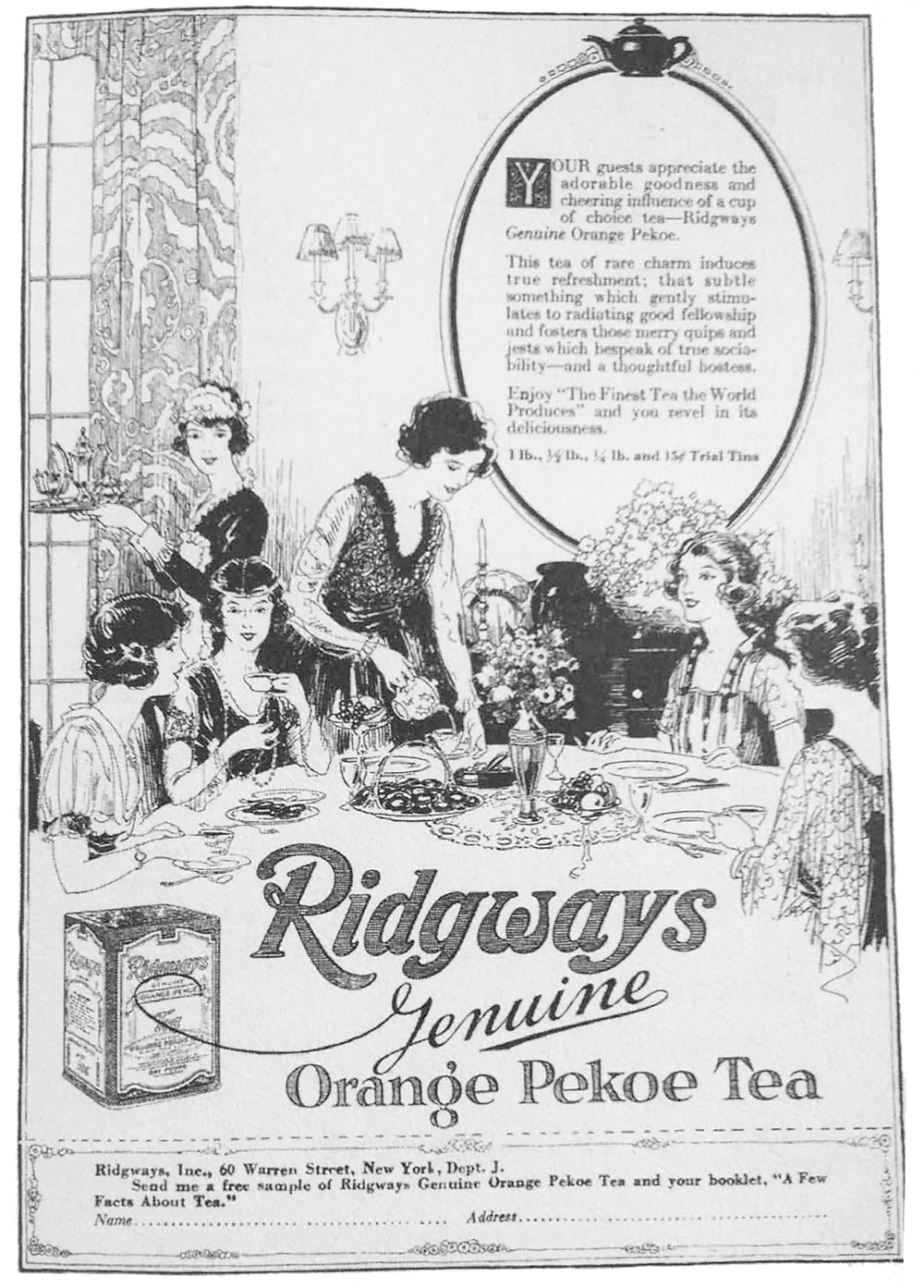 """Advertisement with depiction of servant supports """"big ideas"""" at Lippitt House Museum"""