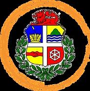 Coat Of Arms Aruba Logo In Orange Circle