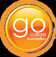 Go Cultura Foundation Logo In Orange Cir