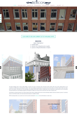 Beacon Building Website