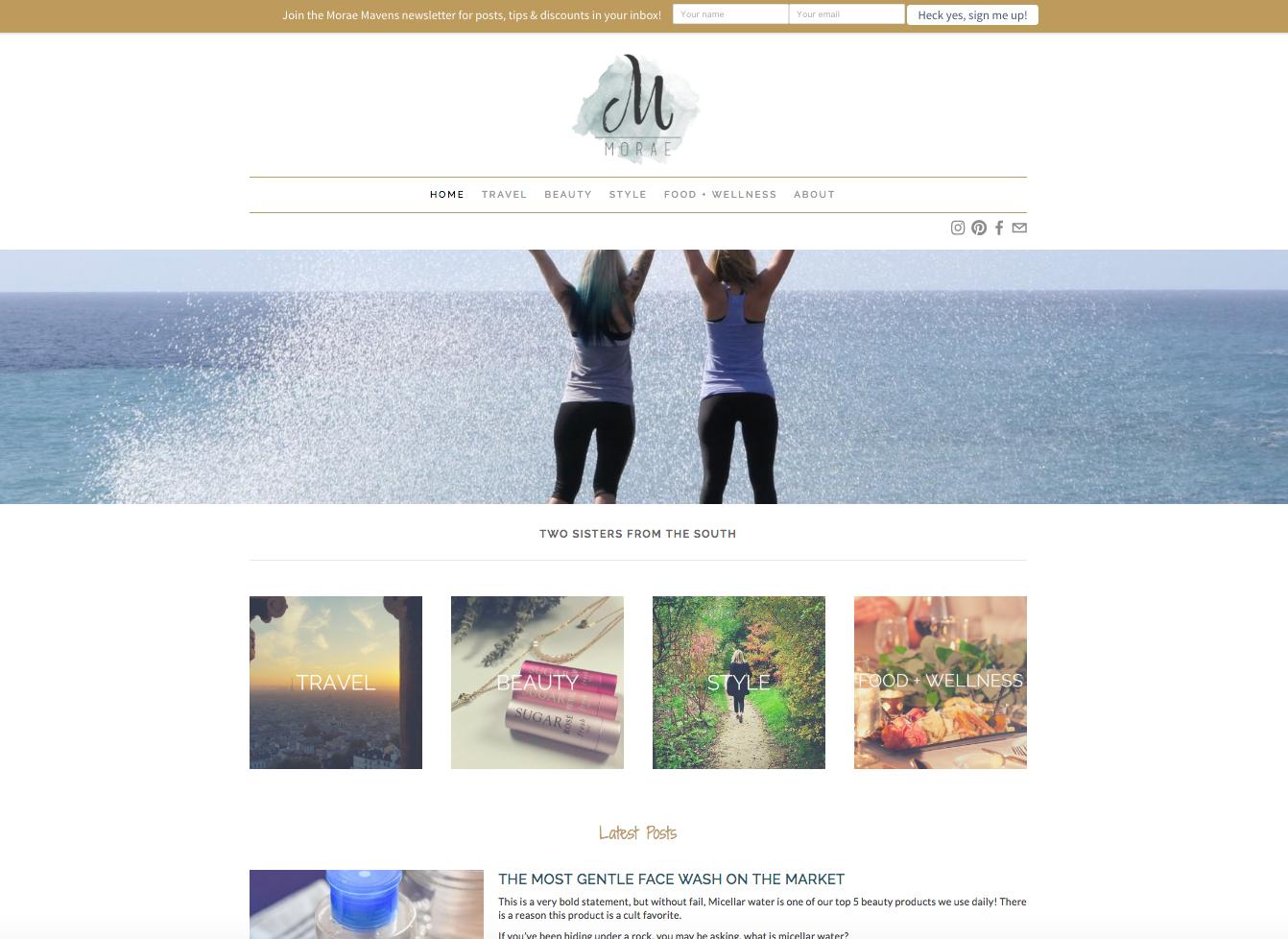 Morae Website