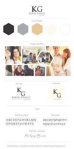 Karen Gurley Branding Board