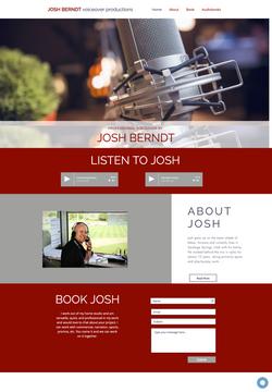 Josh Bearndt Voice Website