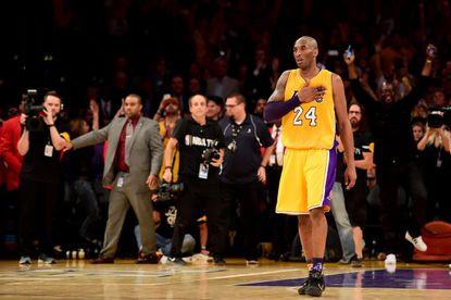 Kobe. Mamba Forever.