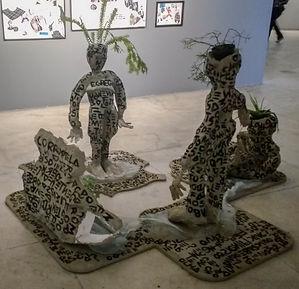 neurastenia: relações entre identidades antropofágicas, 2017 - lia petrelli