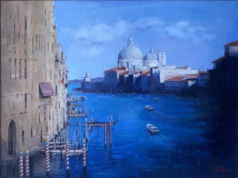 John Perkins Grand Canal Venice, 2016