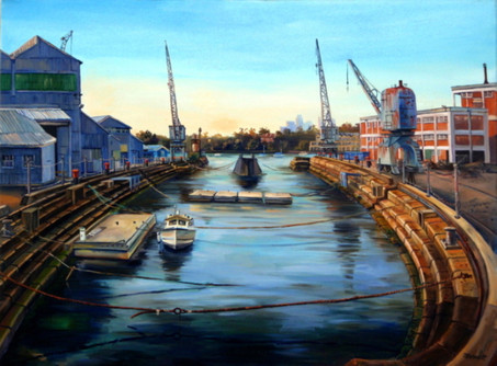 CK65   Fitzroy Dock, early morning   200