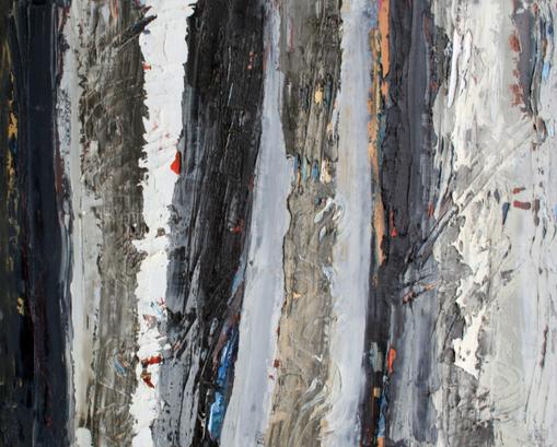 Bernadette Smith - Veils, 2020 - Oil on