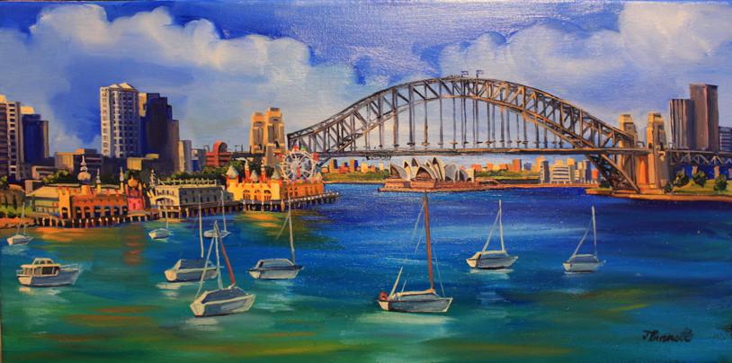 S83 Lavender Bay, Luna Park + Sydney Har