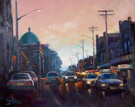 John Perkins - Evening in Darling Street
