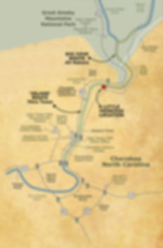 Cherokee Rapids Map