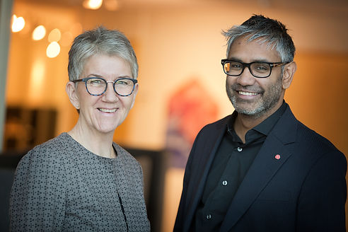 Åsa Snårbacka och Fredrik Hansson