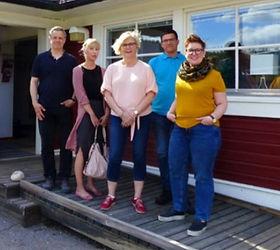 Stefan Lindgren, Madelene Westbom, Ann-Louise Norén, Tommy Isaxon och Malin Lejon