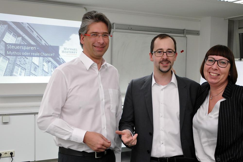 Hösterey Steuerberatung Vortrag Wirtschaftsjunioren Hagen