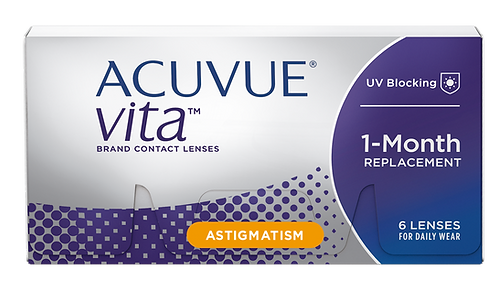 ACUVUE® VITA® for Astigmatism with HydraMax™ Technology