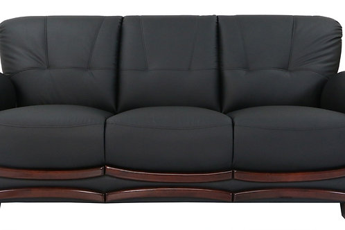 modern navy blue sofa